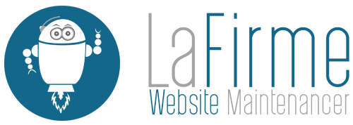 LaFirme Web Agency Website maintenance and correction